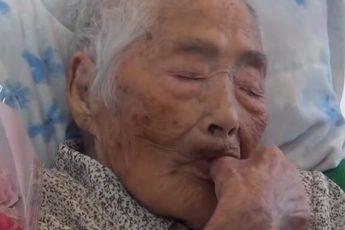 oldest person in the world Nabi Tajima