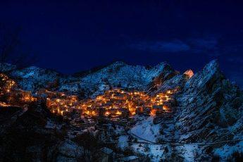 winter italy castelmezzano